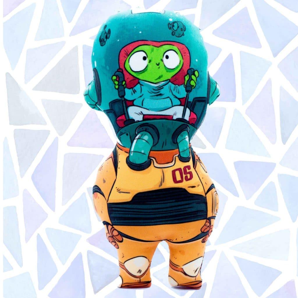 Muñeco personalizado robot