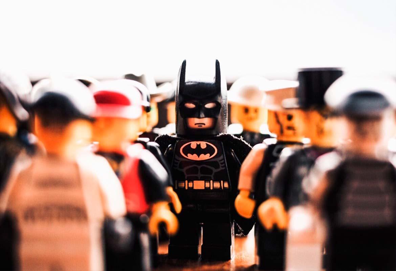 muñecos lego batman