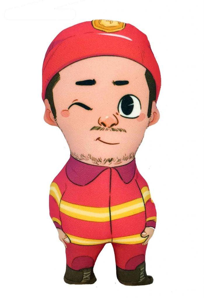 muñecos personalizados bombero
