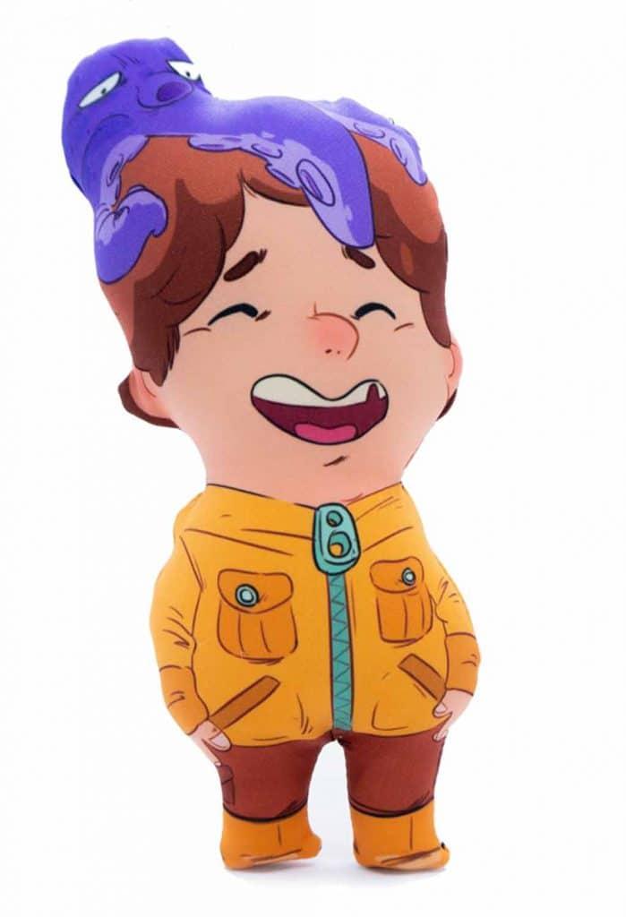 muñecos personalizados niño pulpo