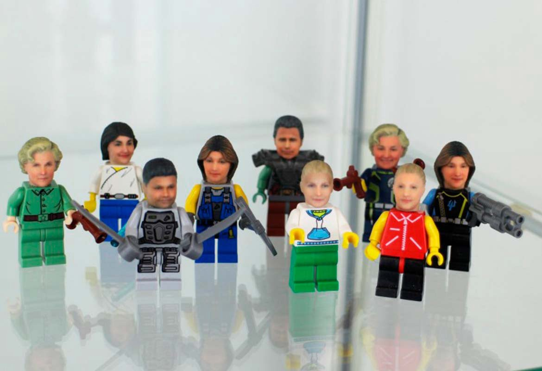 muñecos de lego personalizados