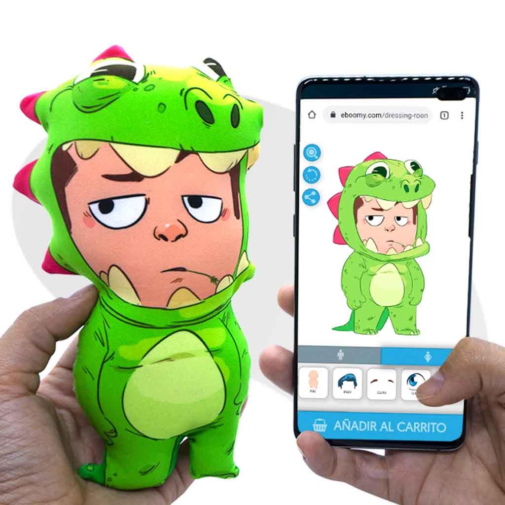 muñecos personalizados eboomy